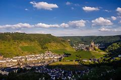 Cochem & Reichsburg (JN) Tags: castle germany deutschland town nikon scenic 1735mmf28d cochem reichsburg 1735mm d700