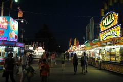 A Wisconsin Summer Night (Cragin Spring) Tags: food usa wisconsin night rural unitedstates unitedstatesofamerica fair pizza countyfair wi elkhorn concessions vendors 2015 walworthcountyfair elkhornwi walworthcounty elkhornwisconsin