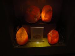 Himalayan Salt Lamp (viktrav) Tags: stpaul sciencemuseumofminnesota halite rocksalt giftstore museumstore himalayansaltlamp