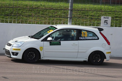Ryan Faulconbridge in Fiesta Racing at Rockingham, Sept 2015