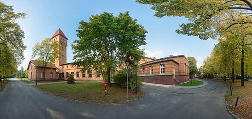 Altes Kesselhaus des Unfallkrankenhauses Berlin (Seitenansicht) Foto: Ole Bader 1032Panorama