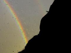 Emilio Arcoris (Pablo Moreno V) Tags: boy arcoiris canon lluvia rainbow silueta nio