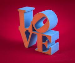 Red and Blue Love_3 (Georg Kreuter) Tags: love robert indiana popart beatles blender 3dprint robertindiana shapeways