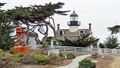 California-06544 - Point Pinos Lighthouse (archer10 (Dennis) 159M Views) Tags: california usa lighthouse sony unitedstatesofamerica free dennis jarvis pacificgrove buoy pointpinos iamcanadian freepicture dennisjarvis archer10 dennisgjarvis