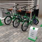 自転車シェアリングサービスの写真