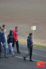 первый спортивный праздник по выявлению готовности студентов и сотрудников колледжа к сдаче норм ГТО.