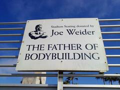 Venice beach Joe Weider in LA