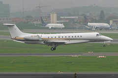 ABS Jets / ERJ135BJ / OK-SUN / EBBR 01 (_Wouter Cooremans) Tags: aviation jets landing 01 bj abs spotting bru zaventem ebbr brusselsairport avgeek erj135 oksun erj135bj runway01