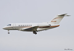Nantucket Express LLC. Hawker 4000 N163DK (birrlad) Tags: ireland private airplane airport aircraft aviation airplanes jet landing shannon nantucket finals express passenger arrival approach beechcraft corp runway llc hawker 4000 arriving bizjet snn n163dk