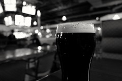 Lovely Guinness (alborz.shoobi) Tags: blackandwhite canada edmonton alberta rosario karaoke guinnessbeer fujifilmxseries