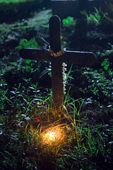 The Other Side (lopamudra bag) Tags: india cemetery grave graveyard candle cross kolkata westbengal allsoulsday bhowanipore bhabanipur bhowaniporecemetery bhabanipurcemetery