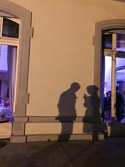 (fran&ois) Tags: break shadows purple smoking listening conversation pause speaking ombres