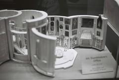 Dumbledore's Office (goodfella2459) Tags: nikon f4 af nikkor 50mm f14d lens ilford delta 400 35mm black white film analog harry potter studio tour warner bros j k rowling dumbledores office milf