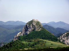 Arige - Montsgur (Swanesca) Tags: arige montdolmes skiresort summer monsgur pyrenees landscape mountain valley france montsgur