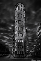 Architecture of Malmö (AndreasNikon) Tags: city blackandwhite bw art architecture sweden ngc nikkor nocrop malmö bildings malmöe 1424 nohdr nikond600 skanecounty