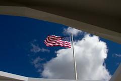 The Stars and Stripes at Pearl Harbor IMG_6750 (grebberg) Tags: battleship ussarizona memorial pearlharbor historicsite oahu hawaii july 2015 flag starsandstripes usa