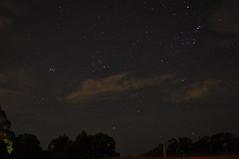 Pleiades, Taurus and Orion (left to right) from Mount Burnett Observatory (Chris_Samuel) Tags: m45 orion m42 taurus pleiades orionnebula astrometrydotnet:status=solved astrometrydotnet:id=nova1348197