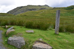 Three Shires Stone, Wrynose Pass, Lake District 23/07/15 (debbiej1303) Tags: lakedistrict wrynosepass threeshiresstone