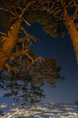 Nachts über Thun (Joachim S.) Tags: nacht geburtstag fondue feuer rabenfluh