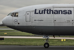 Lufthansa Cargo D-ALCM 28-12-2015 (Enda Burke Photography) Tags: travel england man window plane canon manchester evening fly flying wings flight wing engine cockpit cargo landing motionblur engines 7d planes pan panning terminal3 departure takeoff runway lufthansa freight pilot flightdeck manchestercity pennines freighter md11 manchesterairport winglets mcdonnell mcdonell taxiing terminal2 terminal1 rvp manc mcdonnelldouglas taxiway egcc lufthansacargo cargojet mcdonnelldouglasmd11 dalcm manairport landingear runwayvisitorpark 7dmk2 runwayvistitorpark t3carpark manchesterrunwayvisitorpark canon7dmk2