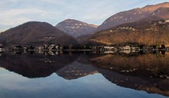 Lake reflections... (janjaalugano) Tags: canon reflections schweiz switzerland tessin ticino suisse svizzera riflessi lugano g12 luganese spiegelungen poweshot