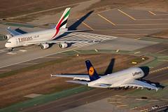 Lufthansa Airbus A380-841 D-AIMK (Mark Harris photography) Tags: california plane canon la aircraft airbus a380 5d lax klax 25l