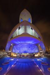 Palau de les Arts - CAC (José Ferrando) Tags: color valencia cac reinasofia ciudaddelasciencias reflejos canon1740mml canon6d