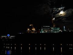 A Lunar Parliament (Derrick.Midwinter) Tags: supermoon ottawa ontario parliament parliamenthill moon night