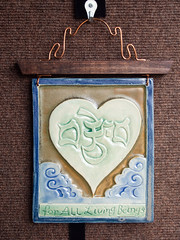 Ceramic plaques, Lobsang Gyatso (marketkim) Tags: product eugene oregon saturdaymarket festival artfair eugenesaturdaymarket artfestival