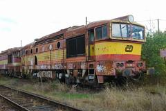 750-380 at Ceska Trebova depot (Karel1999 Over a Million views ,many thanks) Tags: vlak zug locomotives trains diesels ceska trebova