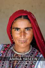 Face of Balochi Nomads (Amna Yaseen) Tags: 2016 sindh baloch tribe tribalcultures balochtribe shambalatribe jewelry nomad tradition woman motif embroidery portrait naturallight mithri