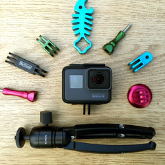 HERO5 + GoTough Gear (FotodioxPro) Tags: hero5black hero5session gopro newgopro goproaccessories gotough fotodiox metalmount thumbscrew sharkbite goprohero5black productphotography unboxing minitripod iphone6s