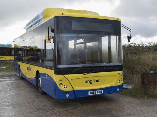(056) Bus - Anglian - Man EcoCity - AU62 DWN - Beccles