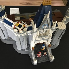 Step Nine Complete (kmb733) Tags: disney cinderellacastle lego minnie mickey donald