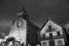Un desliz del crepsculo (keko click) Tags: iglesia church auritzburguete navarra longexposure