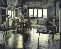 πρωινό φως (2010) - ακρυλικά (40Χ50)
