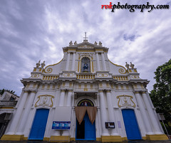 Immaculate Conception Cathedral, Pondicherry, India (rvk82) Tags: 2016 immaculateconceptioncathedral india nikkor1424mm nikon nikond810 october2016 photography pondicherry rvk rvkphotography raghukumarphotography southindia wideangle wideangleimages rvkphotographycom