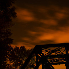 stoale_p4_s1 (samanthatoalephotography) Tags: weather industrial night nightsky clouds stars bridge cloud sky outdoor dusk