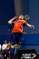 NBLmatch-5100-0396 (University of Derby) Tags: 5100 badminton nbl sportscentre universityofderby match
