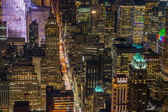 NYC at night (Artem Zhukov) Tags: night new york manhattan skyline city aerial view brooklyn midtown bridge building architecture urban downtown street nyc travel river america cityscape skyscraper light background sky penthouse water colorful park outdoors office scene high landmark contemporary usa east evening illuminated panoramic district