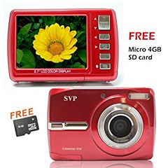 18MP Cybersnap1018 Red (Micro4GB) Digital Camera (goodies2get2) Tags: amazonca bestsellers giftideas