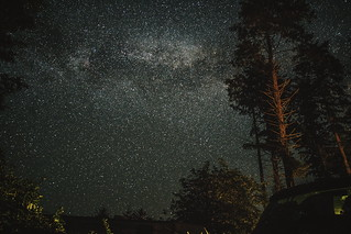 stars in the campground