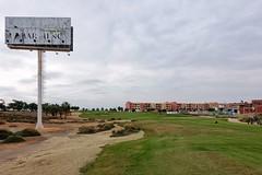 Anathema (RagbagPhotography) Tags: course disrepair anathema ruin delapidated spain murcia losalcazares marmenor resort golf sign challenge 366 365