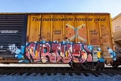 (o texano) Tags: houston texas graffiti trains freights bench benching vrtue
