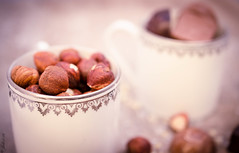 DSC_0282 (La Marquise de Jade) Tags: tasses noisette douceur automne pause détente