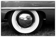 Capped - Parsonsfield, ME (gastwa) Tags: nikon f6 58mm f14g afs prime lens kodak tmax 400 film black white bw blackandwhite monochrome analog car auto ford reflection parsonsfield maine newengland travel transportation andrew gastwirth andrewgastwirth