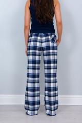 Ella - Woven Yarn Dye PJ Pants - Blue Check (Bedroom Athletics) Tags: womens ella woven yarn dye pj pants blue check by bedroom athletics winterweight