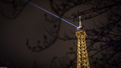 A night at the Tour Eiffel (Explored November 27, 2016. Thank you Flickr !) (Michel Images) Tags: nuit paris toureiffel