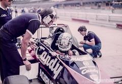 Formel 1 1983 - Derek Warwick (alpenbild.de) Tags: hockenheim badenwrttemberg deutschland hockenheimring motodrom groserpreisvondeutschland formel1 formula1 motorsport fahrerlager pitlane boxengasse formulaone derekwarwick f1