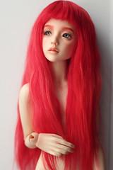 Narae 406 Strawderry (Emerald_Fairy) Tags: doll dollphotography narae narae406 strawberry artdoll dollartist bjd bimong msd